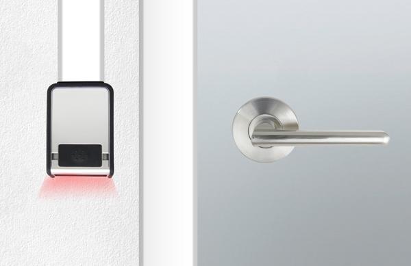 Installation example QR key