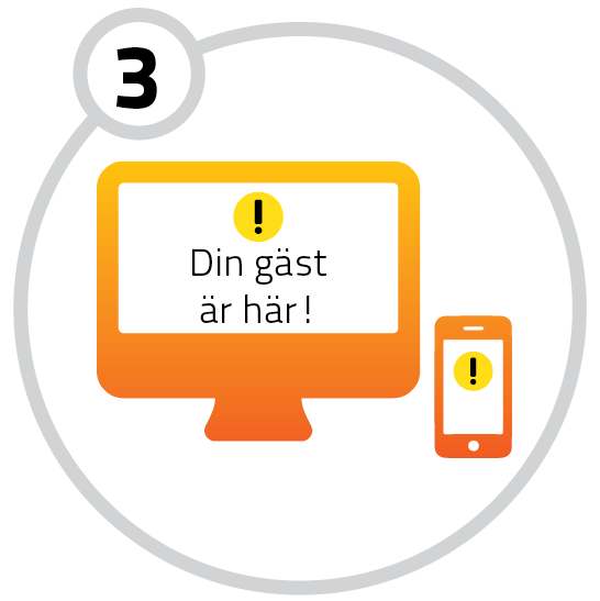 3. Meddelande via SMS/e-post