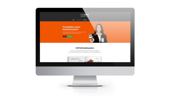 CAVVisit Besökssystem får ny hemsida